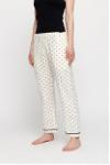 dotted rest pants