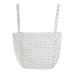 dotted shopper bag