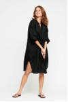 new remain shirtdress silk