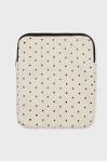 dotted computer cover