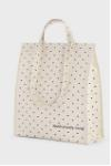 dotted cooler bag