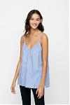 dawn top chambray